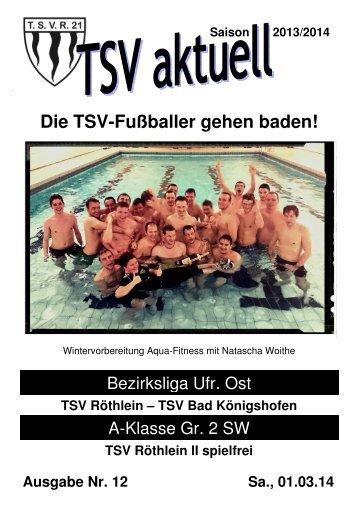TSV aktuell Nr. 12 2013/14
