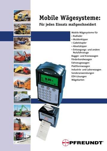 Mobile Wagesys - Pfreundt GmbH