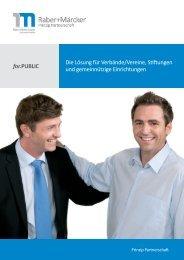 for.PUBLIC Die Lösung für Verbände/Vereine, Stiftungen und ...