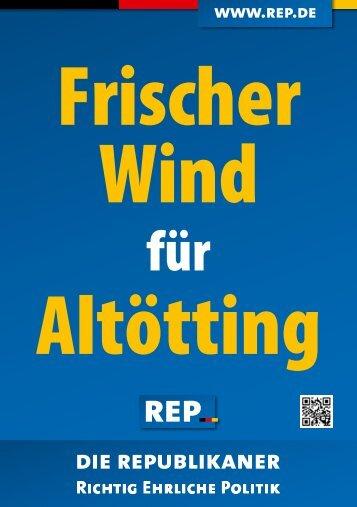 Flyer Günther Vogl - Die Republikaner