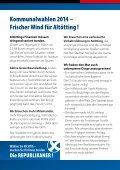 Flyer Günther Vogl - Die Republikaner - Seite 2