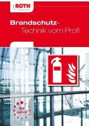 Brandschutz - Technik vom Profi - Roth - Feuerschutz
