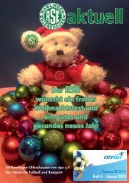 RSEaktuell, Ausgabe Januar 2014 - SV Ramlingen-Ehlershausen ...