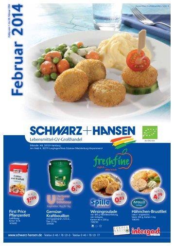 Angebot des Monats - Schwarz + Hansen Lebensmittel GV ...