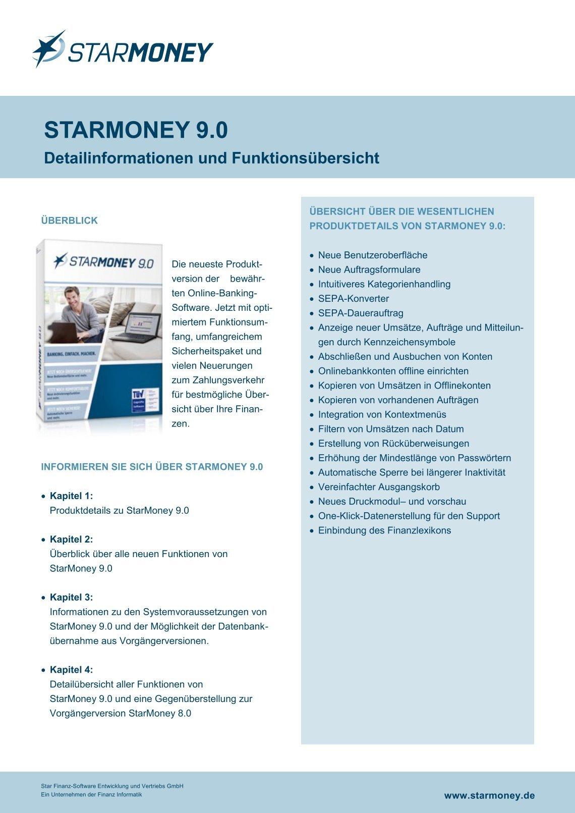 Download Starmoney 9.0