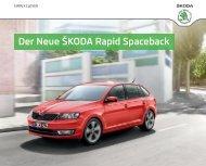 Der Neue ŠkoDa Rapid Spaceback - Skoda Auto Deutschland GmbH