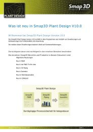 Neue Funktionen in Smap3D Plant Design V10 - Solid System Team