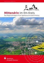 Mittendrin im Ilm-Kreis - Sparkasse Arnstadt-Ilmenau