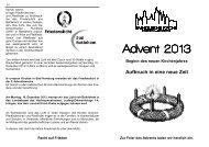 Advent 2013 - Innenteil.pub - St. Marien