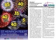 Pfarrbrief Januar/Februar 2014 - St. Heinrich