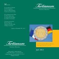 Juli 2013 - Tertianum