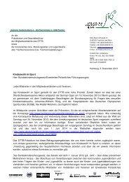 1311 Kindeswohl im Sport Rundschreiben BKSchG - TTVN