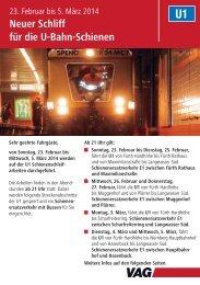 Info U-Bahn Spenozug U1.indd - Vag