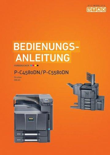 BeDIeNuNgs- ANleItuNg - Utax