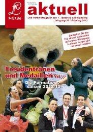 TCL Aktuell, Ausgabe 1/2013 - 1. Tanzclub Ludwigsburg