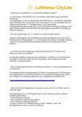 Lufthansa Cityline Flugbegleiter FAQs - in Bearbeitung1 - Page 2