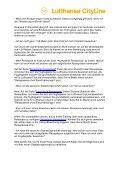 Lufthansa Cityline Flugbegleiter FAQs - in Bearbeitung1 - Page 3