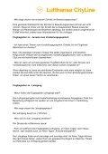 Lufthansa Cityline Flugbegleiter FAQs - in Bearbeitung1 - Page 5