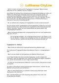 Lufthansa Cityline Flugbegleiter FAQs - in Bearbeitung1 - Page 6