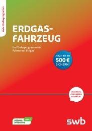 Erdgasfahrzeug – Ihr Förderprogramm für Fahren mit Erdgas pdf - Swb