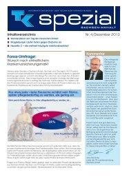 TK spezial Ausgabe 4 - Dezember 2013 (PDF, 314 KB ) - Techniker ...