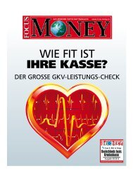 focus-money 2013 (pdf, 858 kb) - Techniker Krankenkasse