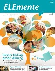 ELEmente 3/13 - ELE Emscher Lippe Energie GmbH