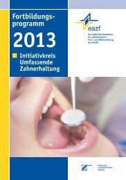IUZ-Programm 2013 - eazf
