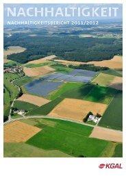 Nachhaltigkeitsbericht 2011/2012 - KGAL