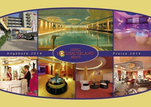 PDF: Hotelprospekt 2014 - Kurhotel Hochsauerland 2010