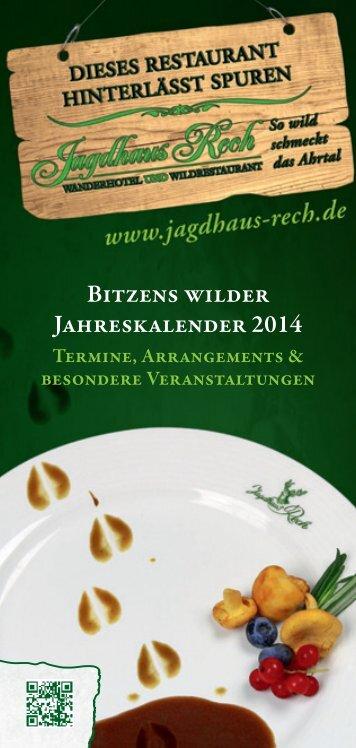 zu den Veranstaltungen - Hotel und Restaurant Jagdhaus Rech