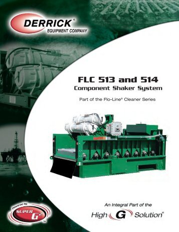 FLC 513 and 514 - Derrickinternational Equipment Company