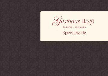 Speisenkarte Januar 2014-2 - Gasthaus Weiß