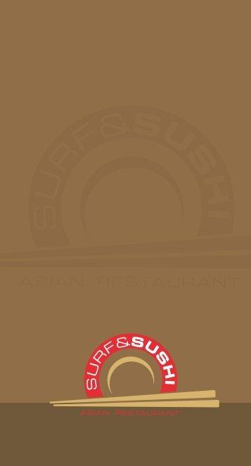 speisekarte - Surf & Sushi