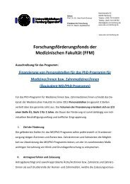 Äquivalent MD/PhD Programm