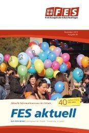 FES aktuell Nr. 65 - FES Reutlingen