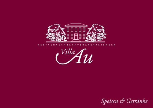 Download Speisekarte - Villa Au
