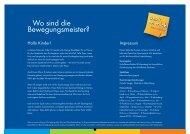 Bewegungskalender 2014 - Unfallkasse Baden-Württemberg
