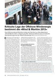 Nachbericht Zukunftskonferenz Wind & Maritim - Wind Energy ...