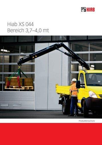 Hiab XS 044 Bereich 3,7–4,0 mt - Ulber Fahrzeugtechnik GmbH