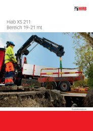 Hiab XS 211 Bereich 19–21 mt - Ulber Fahrzeugtechnik GmbH