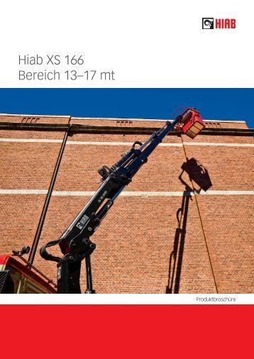 Hiab XS 166 Bereich 13–17 mt - Ulber Fahrzeugtechnik GmbH