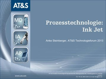 Ink Jet - AT&S