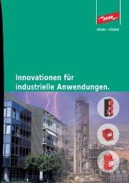 Innovationen für industrielle Anwendungen. - Dehn + Söhne ...
