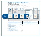 Qualität des ambulanten Pflegedienstes AWO Mobile ... - AWO-Gießen