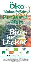 Öko-Einkaufsführer Rheinland-Pfalz - Bioland