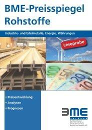 BME Preisspiegel Rohstoffe 1_2012 Leseprobe.indd