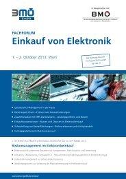 Einkauf von Elektronik - BME