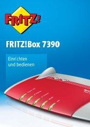 Handbuch FRITZ!Box 7390 - AVM