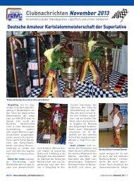 Clubnachrichten November 2013 - Navc